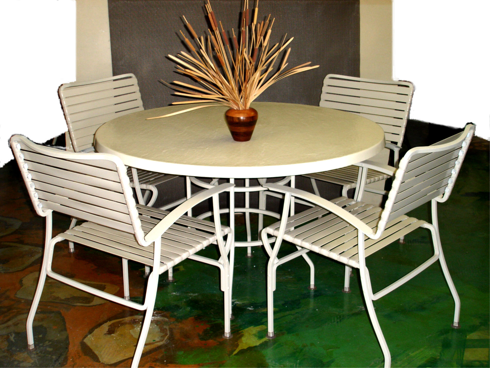 Vintage Outdoor Furniture Showroom