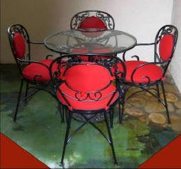 Wrought Aluminum Furniture